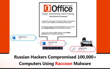 Russian Hackers Compromised 100,000+ Computers Using Raccoon Malware Via Fallout & RIG Exploit Kits