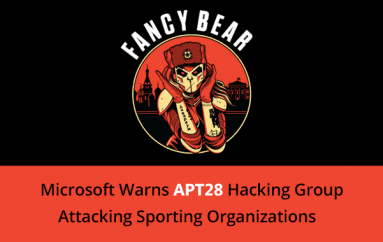 APT28 Hacking Group Attacking Sporting Organizations Around the World Using Custom Malware