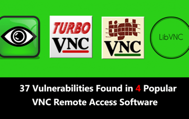 37 Vulnerabilities Found in 4 Popular Open-Source VNC Remote Access Software