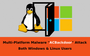 Multi-Platform Malware ACBackdoor Attack Both Windows & Linux Users PC by Executing Arbitrary Code