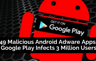 49 Malicious Android Adware Apps in Google Play Infects 3 Million Users with Anti-uninstall Functions