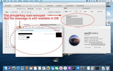 Apple Mail Stores Parts of Encrypted Emails in Plaintext DB