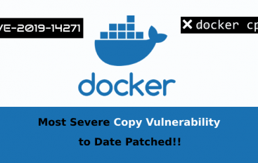Most Critical Docker Vulnerability Let Hackers To Take Complete Control Over Host & All Containers Within It