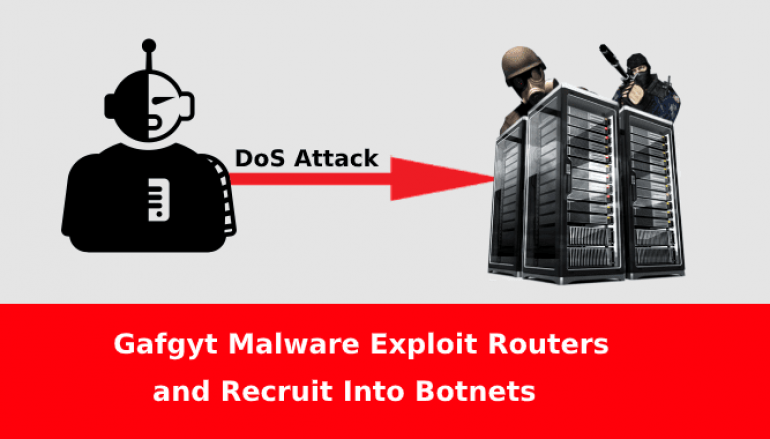 Gafgyt Malware Infect Wireless Routers and Recruit into Botnets to Attack Gaming Servers