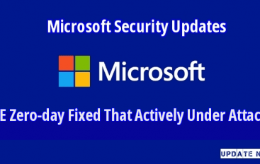 Microsoft Fixed 74 Bugs Including IE Zero-day That Allow Hackers to Execute Arbitrary Code Remotely in Windows PC