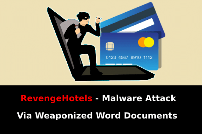 RevengeHotels – Malware Attack Via Weaponized Word Documents to Steal Users Credit Card Data