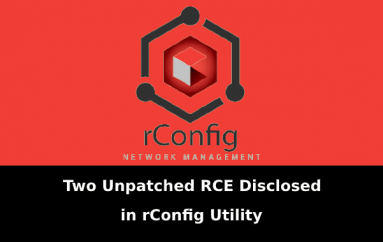 2 Unpatched Critical RCE Bug Disclosed in Open Source Network Configuration Utility rConfig