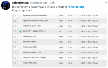 Major ASP.NET Hosting Provider SmarterASP Hit by Ransomware Attack