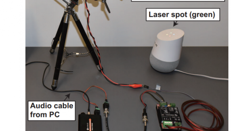 'Light Commands' Attack: Hacking Alexa, Siri, and Other Voice Assistants via Laser Beam