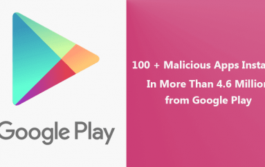 Google Play Flooding with 100 + Malicious Apps That Installed In More Than 4.6 Million Android Devices
