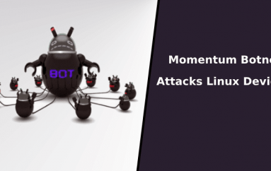 Momentum Botnet Attacks Linux Devices and Recruit them as Botnet to Launch DDoS Attacks Using 36 Different Methods