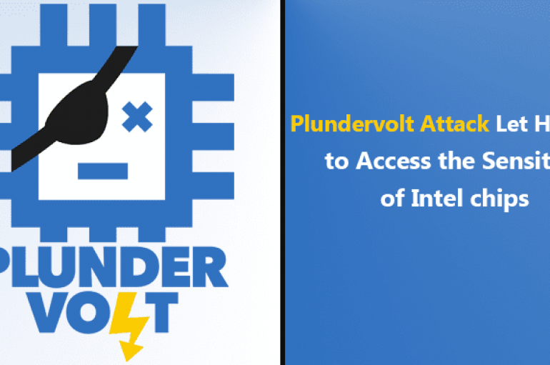 Plundervolt Attack Let Hackers Access the Sensitive Data Stored Inside Secure Area of Intel CPUs