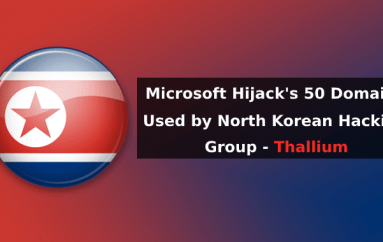 Microsoft Hijack's 50 Domains Used by North Korean Hacking Group to Perform Various Cyber Attacks