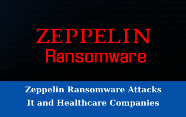 RaaS – Zeppelin Ransomware Attacks IT and Healthcare Companies To Encrypt The Sensitive Data