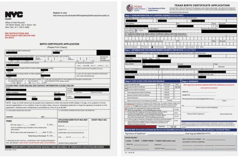Unsecured AWS Bucket Exposes Over 750,000 Birth Certificate Applications