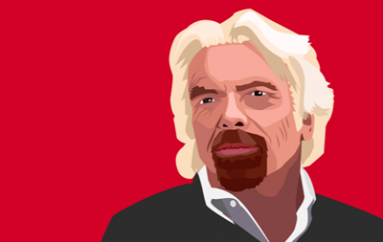 Richard Branson Gets Animated Over Online Scams
