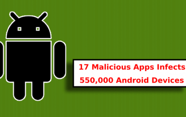 17 Malicious Android Apps Discovered in Google Play Store that Infects 550,000 Android Devices
