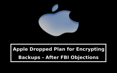Apple Dropped A Plan Let iPhone Users Have Fully Encrypt Backups On Their Devices Including WhatsApp Chats