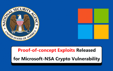 Proof-of-Concept Exploits Released for The Microsoft-NSA Crypto vulnerability – CVE-2020-0601