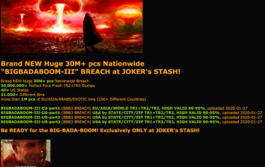 Wawa Card Breach: 30 Million Card Records for Sale in the Dark Web