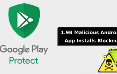 Google Play Protect Blocks More than 1.9B Malicious App Installs in 2019
