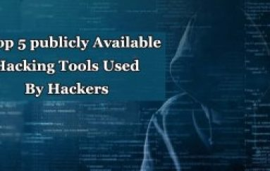 These are the Top 5 Publicly Available Hacking Tools Mostly used By Hackers