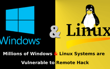 Millions of Windows & Linux Systems are Vulnerable to Remote Hack that Manufactured by Lenovo, Dell, HP and Others