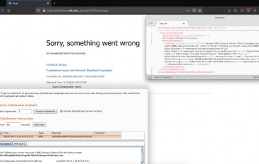 CVE-2019-0604 SharePoint Remote Code Execution (RCE) Vulnerability