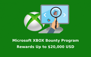 Microsoft Launches XBOX Bounty Program Rewards Up to USD 20,000 for Critical Vulnerabilities