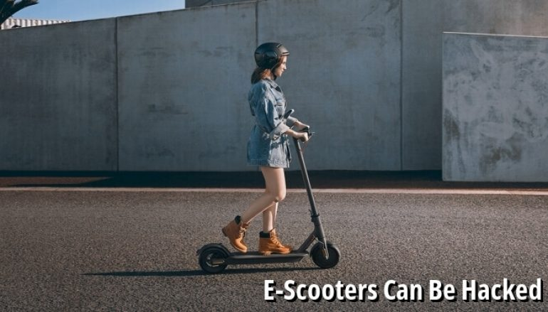 E-Scooters Can Be Hacked Using Remote Locking System Manipulation
