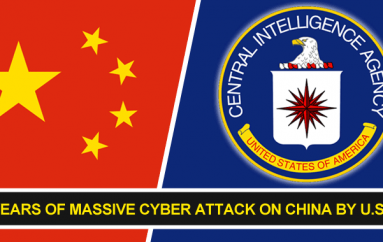 U.S Based CIA Hacking Group Launched Massive Cyber Attack on China for 11 Years – A Shocking Report