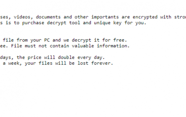 Experts Warn of A New Strain of Ransomware, the PXJ Ransomware