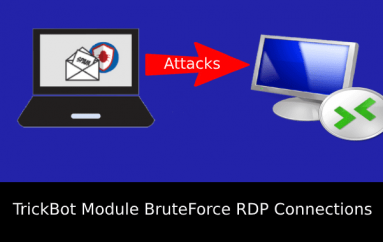New TrickBot Module BruteForce RDP Connections Attacks Telecommunication Industry