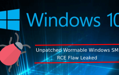 Unpatched Wormable Windows SMBv3 RCE Zero-day Flaw Leaked in Microsoft Security Updates