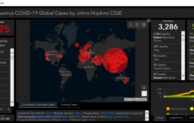 Crooks Use Weaponized Coronavirus Map to Deliver Malware