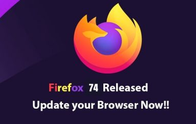 Firefox 74 Released – Several Security Fixes & TLS 1.2 Upgraded