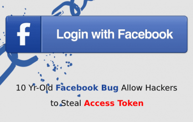 10 Yr-Old Facebook Bug Allow Hackers to Steal Access Token & Hijack Anyone's Facebook Account – 55,000$ Bounty Rewarded