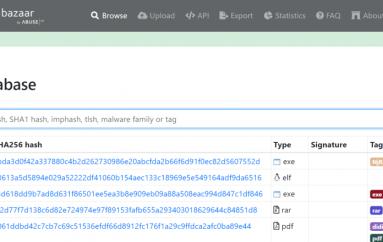 MalwareBazaar – Welcome to the Abuse-ch Malware Repository