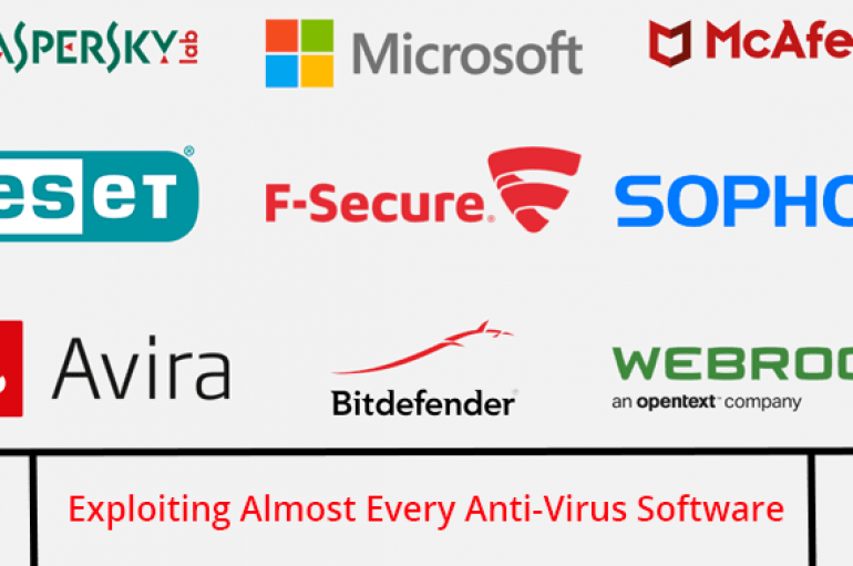 Researchers Exploit Almost Every Anti-Virus Software & Turn Them Into Self Destructive Tools