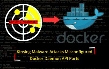 Kinsing Malware Attacks Misconfigured Open Docker Daemon API Ports