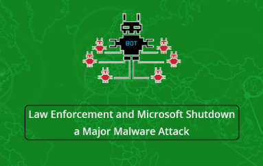 Law Enforcement and Microsoft Shutdown a Major Malware Attack by Mapping 400,000 IP's