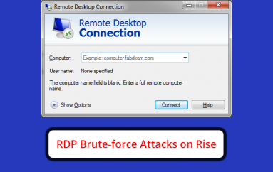 RDP Brute-force Attacks on Rise Since Organizations Worldwide Introduced Remote Working