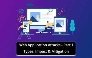 Web Application Attacks – Types, Impact & Mitigation – Part-1