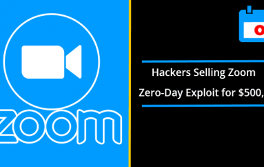 Hackers Are Selling Windows Zoom Zero-Day Exploit for $500,000