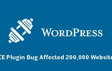 Critical RCE Bug in WordPress Plugin Let Hackers Gain Admin Access on 200,000 Websites