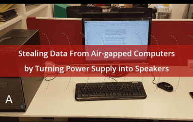 Hackers Steal Data From Air-Gapped Computers by Turning Power Supply to Speakers