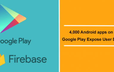 4,000 Android apps on Google Play Expose Millions Of Passwords, Phone Numbers And Messages via Firebase
