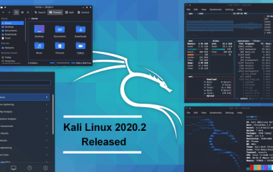 Kali Linux 2020.2 Released – PowerShell by Default, New Packages, New Theme, and More – Update Now !!
