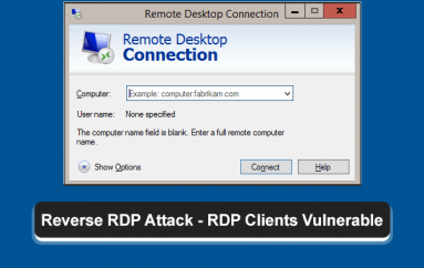 Reverse RDP – Microsoft Patch for RDP client Opens Room for Other Attacks