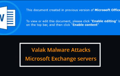Valak Malware Attacks Microsoft Exchange Servers to Steal Enterprise Passwords
